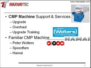 CMP Machine Ability